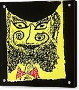 Doctor Goldfish - Krakauer. Judaica . Shabbat Shalom. - King Without A Crown.  Featured 6 Times Acrylic Print
