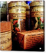 Doctor - Liver Pills In General Store Acrylic Print