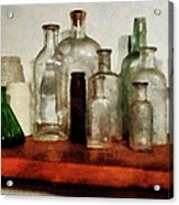Doctor - Medicine Bottles Tall And Short Acrylic Print