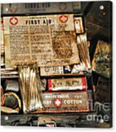Doctor - The First Aid Kit Acrylic Print