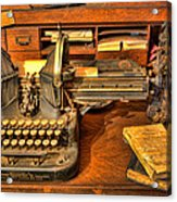 Doctor - The Physician's Desk II Acrylic Print by Lee Dos Santos