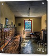 Doctors Office Acrylic Print by Adrian Evans