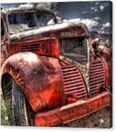 Dodge Bootlegger Truck Acrylic Print