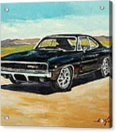 Dodge Charger Rt 1970 Acrylic Print