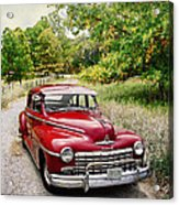 Dodge Country Acrylic Print