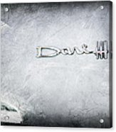 Dodge Dart 440 Emblem Acrylic Print