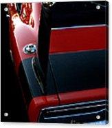 Dodge Daytona Fin Acrylic Print