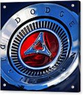 Dodge Division Acrylic Print