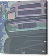 Dodge Ram With Decreased Color Value Acrylic Print