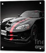 Dodge Viper Srt Acrylic Print