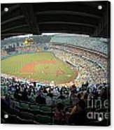 Dodger Stadium Acrylic Print by Micah May
