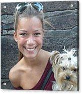 Dog And True Friendship 5 Acrylic Print