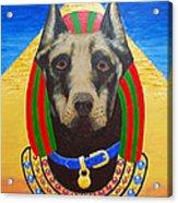 Dog God Acrylic Print