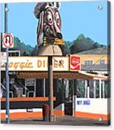 Doggie Diner 1986 Acrylic Print