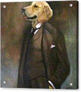 Doggone Executive Acrylic Print