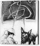 Doggy Acrylic Print