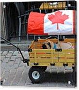 Dog's Life In Canada Acrylic Print