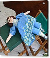 Doll And Camp Chairs 1800s Acrylic Print