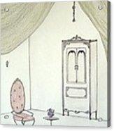 Doll House Interior Acrylic Print by Christine Corretti