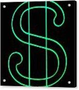 Dollar Sign Acrylic Print