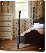 Dollhouse Bedroom Acrylic Print