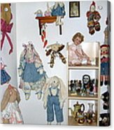 Dolls And Such Acrylic Print