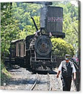Dollywood 2-8-2 Number 70 Acrylic Print