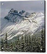 1m3538-dolomite Peak Acrylic Print