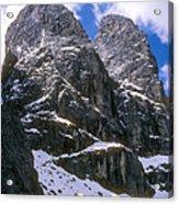 Dolomite Twin Peaks Acrylic Print