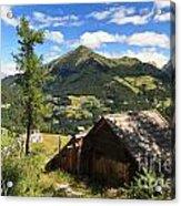 Dolomites - Cordevole Valley Acrylic Print