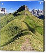 Dolomites - Crepa Neigra Acrylic Print