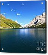 Dolomites - Fedaia Lake  Acrylic Print