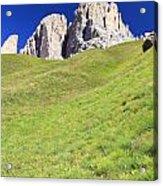 Dolomites - Grohmann Peak Acrylic Print