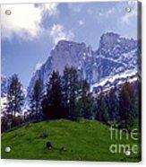 Dolomites Acrylic Print