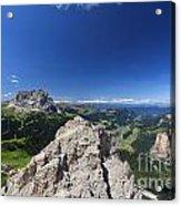 Dolomiti - Alta Val Gardena Acrylic Print