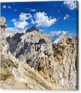 Dolomiti - Costabella Mount Acrylic Print