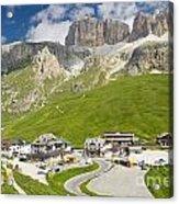 Dolomiti - Pordoi Pass Acrylic Print