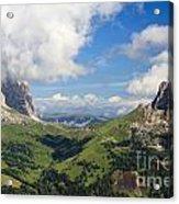 Dolomiti - Sella Pass Acrylic Print
