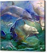 Dolphin Dream Acrylic Print