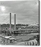 Dome And Bridge Acrylic Print