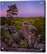 Dome Rock Acrylic Print