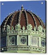 Dome Top Of Carousel House Asbury Park Nj Acrylic Print