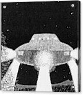 Domed Disc Seen By Frank  Slotta Acrylic Print