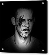 Dominic Monaghan In The Dark Acrylic Print