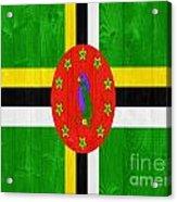 Dominica Flag Acrylic Print