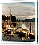 Domino At Alderbrook On Hood Canal Acrylic Print