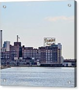Domino Sugars - Baltimore Maryland Acrylic Print