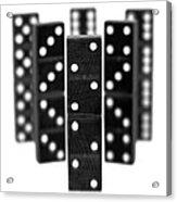 Dominoes Acrylic Print