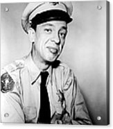 Don Knotts In The Andy Griffith Show  Acrylic Print by Silver Screen