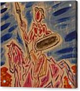 Don Quichotte Acrylic Print